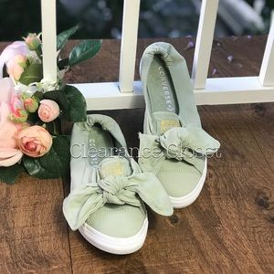 7b71a26a4d37 Converse Shoes - AdVulk CTAS KNOT BRUSHED TWILL SLIP Pure Green W
